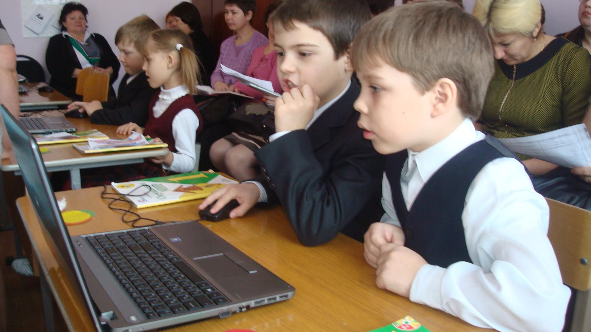 Открытые уроки с применением электронных ресурсов 2 класс